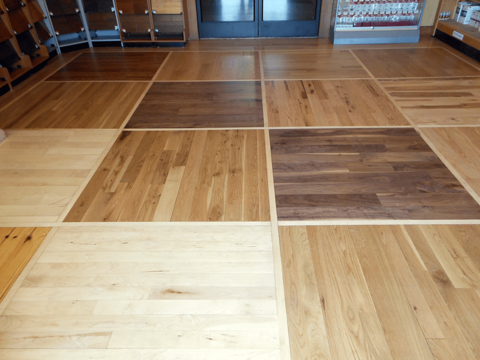 Stains top quality hardwood for Hardwood floor colors