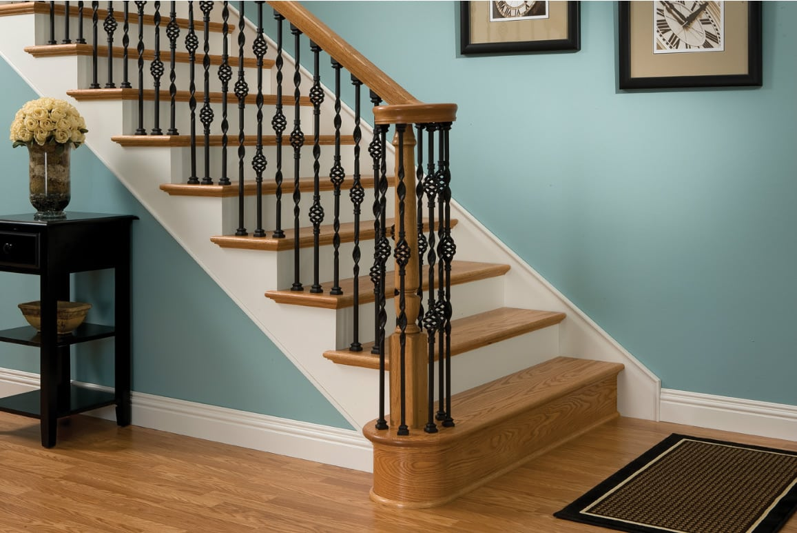 Stair Parts Chicago Top Quality Hardwood Flooring Store