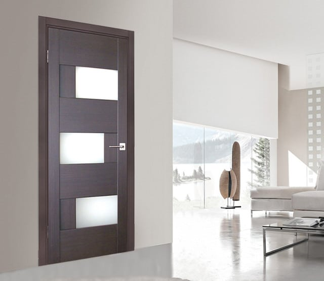 Interior doors chicago wood doors top quality hardwood - Contemporary glass doors interior ...